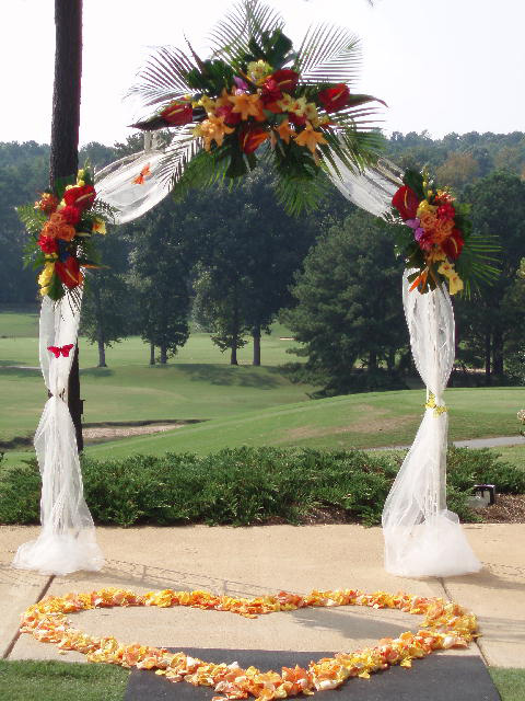Bridal arch decoration ideas elitflat wedding accessories ideas junglespirit Gallery
